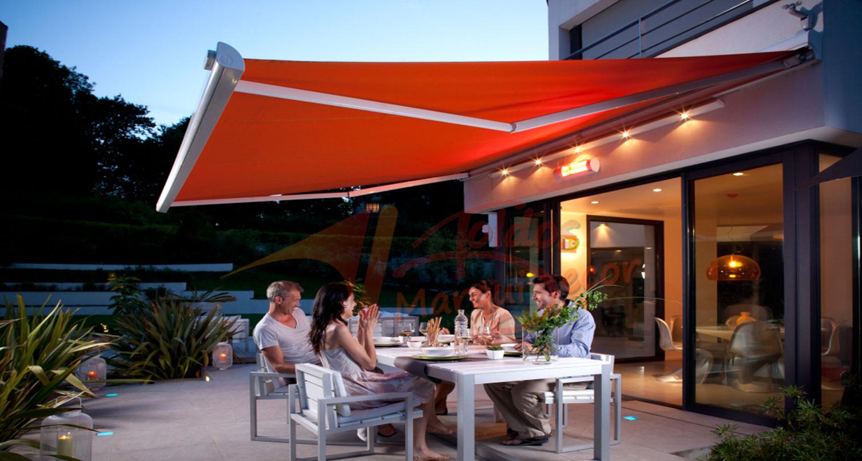 Toldos para terrazas innovative pergolas y toldos para for Toldos de vela para terrazas
