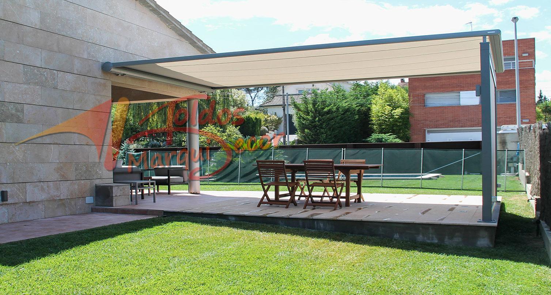 toldo para jardin Toldos Para Jardines Toldos En Madrid Centro Toldos