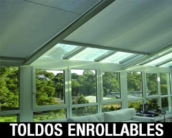 TOLDOS ENROLLABLES DE INTERIOR