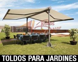 TOLDOS PARA JARDINES